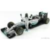 Kép 1/5 - Mercedes F1 W07 Abu Dhabi GP  (N. Rosberg) *Figurával*