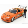 Kép 3/5 - Toyota Supra MkIV - F&F I. - Brian figurával (1995)