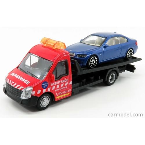 Mercedes-Benz Sprinter tréler és BMW 6-os