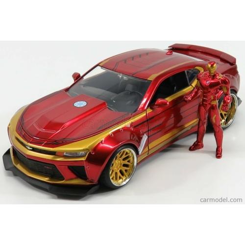 Chevrolet Camaro Coupe (2016) Iron Man figurával