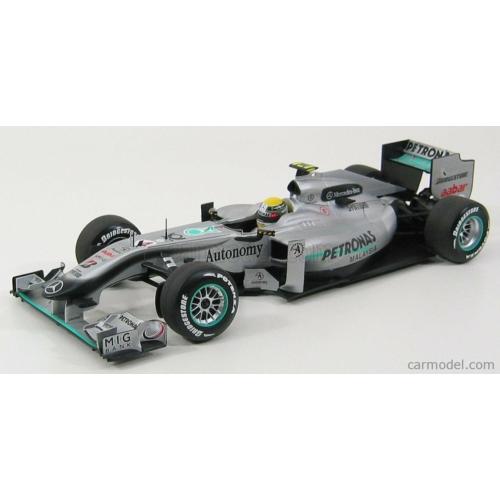 Mercedes F1 MGPW01  (N. Rosberg)