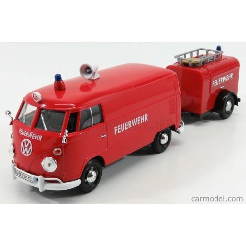 Volkswagen Transporter T1 tűzoltó, utánfutóval (1962)