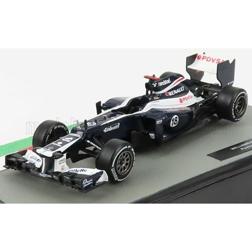 Williams FW34 Cosworth No. 18. - Pastor Maldonado (2012)