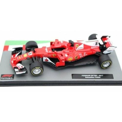 Ferrari SF70H No. 5. - Sebastian Vettel (2017)