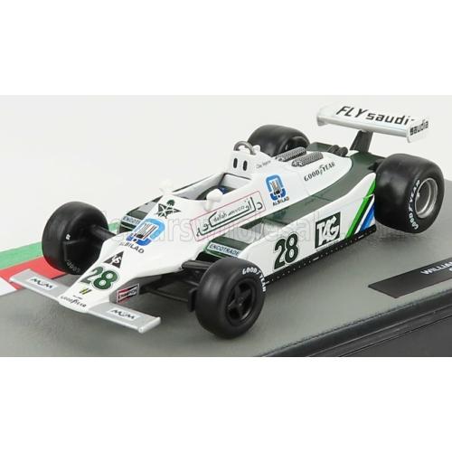 Williams FW07 No. 28. - Clay Regazzoni (1979)